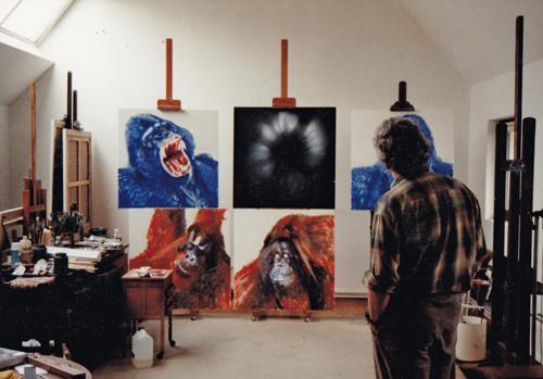 Atelier jaren 1990