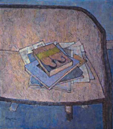 Boeken op zetel